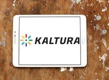 Logotipo da empresa de software de Kaltura Imagens de Stock