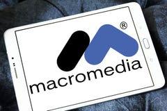 Logotipo da empresa de software de Macromedia Fotos de Stock Royalty Free