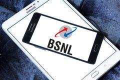 Logotipo da empresa de telecomunicações de BSNL Fotografia de Stock Royalty Free