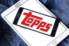 Logotipo da empresa de Topps imagem de stock royalty free