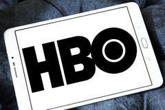 Logotipo da empresa de transmissão de Hbo foto de stock