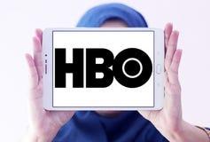 Logotipo da empresa de transmissão de Hbo imagens de stock