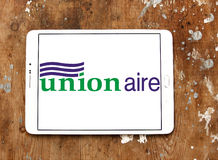 Logotipo da empresa de Unionaire Fotografia de Stock