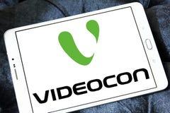 Logotipo da empresa de Videocon Fotografia de Stock Royalty Free
