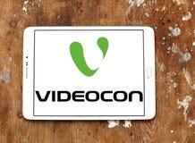 Logotipo da empresa de Videocon Imagem de Stock Royalty Free