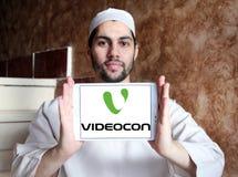 Logotipo da empresa de Videocon Imagens de Stock
