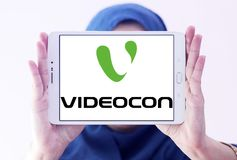 Logotipo da empresa de Videocon Foto de Stock