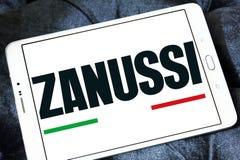 Logotipo da empresa de Zanussi Imagens de Stock