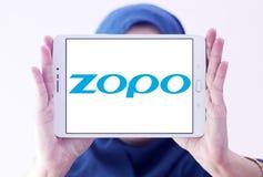 Logotipo da empresa de Zopo Smartphone Imagem de Stock Royalty Free