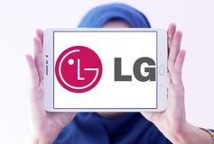 Logotipo da empresa do LG fotos de stock royalty free