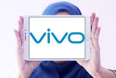 Logotipo da empresa do smartphone de Vivo Fotografia de Stock