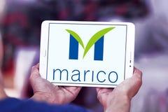 Logotipo da empresa dos bens de Marico Imagens de Stock