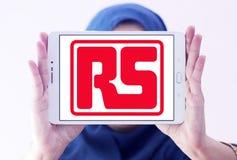 Logotipo da empresa dos componentes de RS fotografia de stock royalty free
