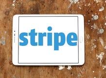 Logotipo da empresa da listra Imagem de Stock Royalty Free