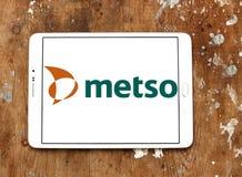 Logotipo da empresa da maquinaria industrial de Metso Fotos de Stock