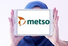 Logotipo da empresa da maquinaria industrial de Metso Imagem de Stock