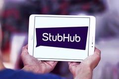 Logotipo da empresa da troca do bilhete de StubHub Foto de Stock Royalty Free
