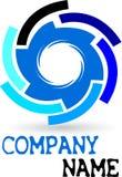 Logotipo da engrenagem Fotografia de Stock