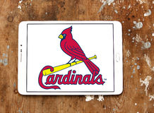 Logotipo da equipa de beisebol do St Louis Cardinals Imagem de Stock