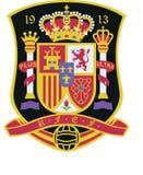 Logotipo da equipa de futebol da Espanha Fotografia de Stock