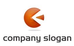 logotipo da esfera 3d - incêndio Imagem de Stock Royalty Free