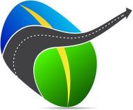 Logotipo da estrada ilustração do vetor