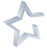 Logotipo da estrela ilustração royalty free