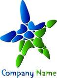 Logotipo da estrela ilustração do vetor