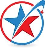 Logotipo da estrela Imagem de Stock