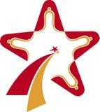 Logotipo da estrela Fotografia de Stock Royalty Free