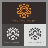 Logotipo da estrela Imagens de Stock Royalty Free