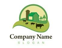 Logotipo 2 da exploração agrícola ilustração stock