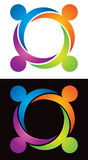 Logotipo da família Foto de Stock