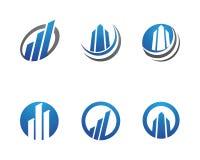 Logotipo da finança do negócio Fotos de Stock