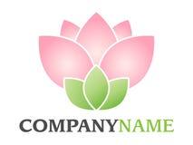 Logotipo da flor Fotos de Stock