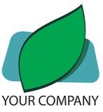 Logotipo da folha Imagem de Stock