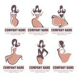 Logotipo da forma Imagem de Stock Royalty Free