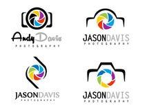 Logotipo da fotografia Imagens de Stock Royalty Free