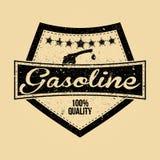Logotipo da gasolina Imagens de Stock