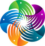 Logotipo da águia Imagem de Stock Royalty Free