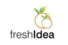 Logotipo da idéia fresca Fotos de Stock