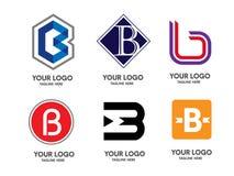 Logotipo da letra B ilustração royalty free