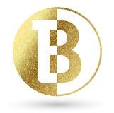 Logotipo da letra B Fotografia de Stock