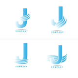 Logotipo da letra J Imagens de Stock