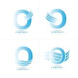 Logotipo da letra O Imagem de Stock Royalty Free