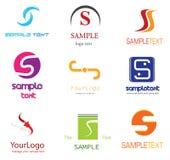 Logotipo da letra S ilustração stock