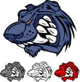 Logotipo da mascote da pantera Foto de Stock Royalty Free