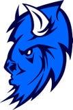 Logotipo da mascote do búfalo Foto de Stock