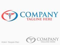 Logotipo da medicina Imagem de Stock Royalty Free