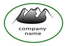 Logotipo da montanha Imagens de Stock Royalty Free